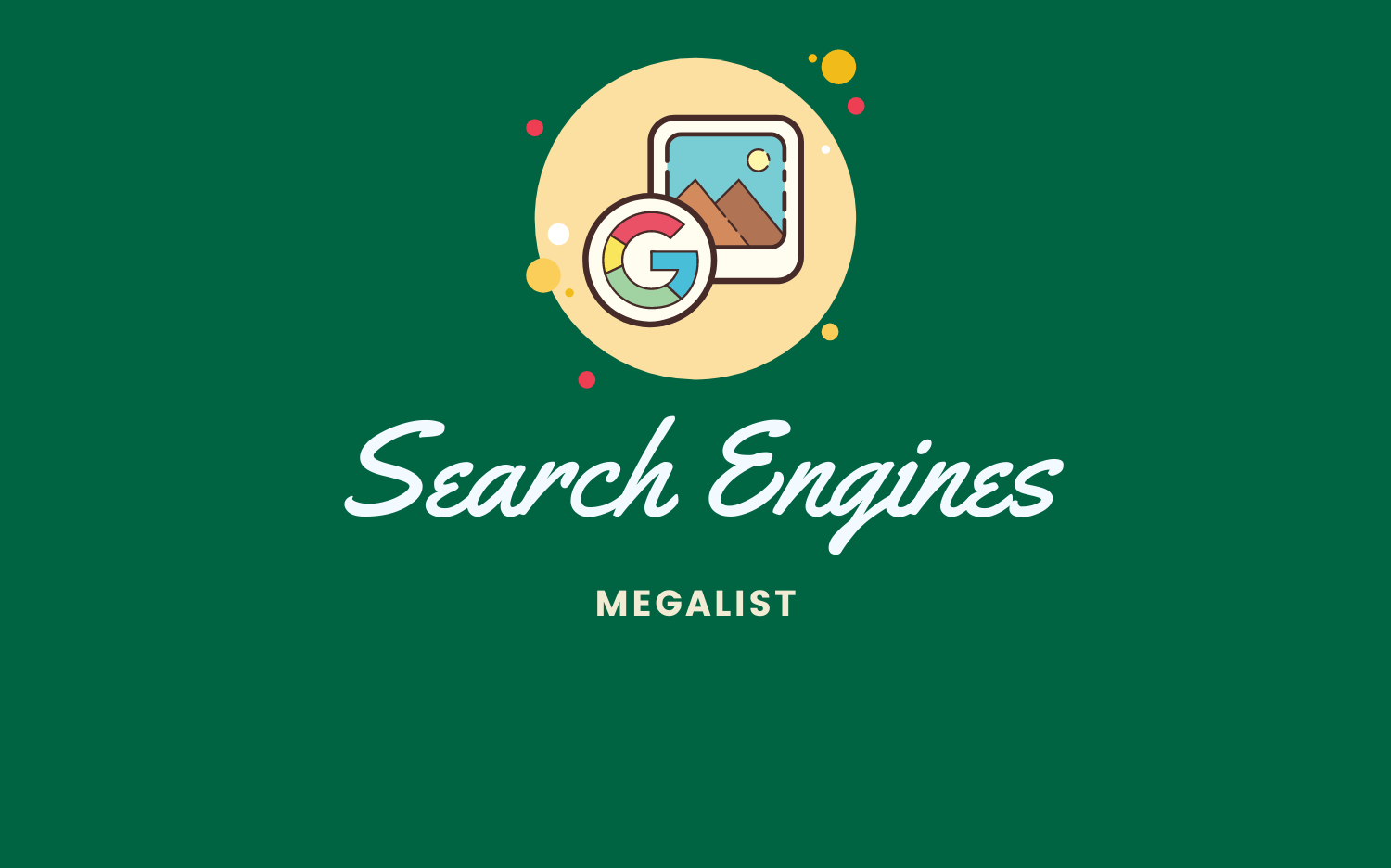 Search Engines Megalist